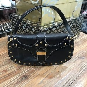 MICHEAL KORS Studded Clutch Purse